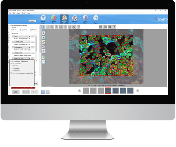 inForm automated image analysis software
